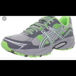 EUC Asics gel venture 4 trail running shoe size 10
